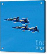 Blue Angels 3 Acrylic Print