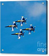 Blue Angels 4 Acrylic Print