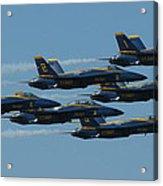 Blue Angels Take 6 Acrylic Print