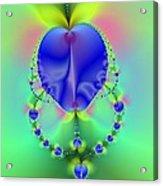 Blue Apples  Acrylic Print