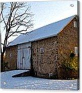 Blue Bell Barn Acrylic Print