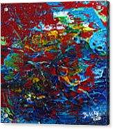 Blue Bloods Acrylic Print