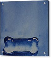 Blue Bone Acrylic Print