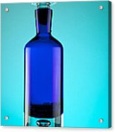 Blue Bottle Acrylic Print by Michelle Wiarda