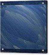 Blue-bud Acrylic Print