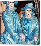 Blue Cane Duo Acrylic Print