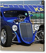 Blue Coupe Acrylic Print