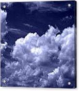 Blue Crush Acrylic Print