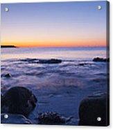 Blue Dawn Acadia National Park Acrylic Print