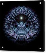 Blue Eye Sphere Acrylic Print by David Kleinsasser