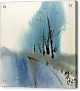 Blue Fall Acrylic Print