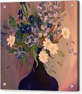 Blue Flowers 2 Acrylic Print