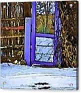 Blue Gate #24 Acrylic Print