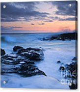 Blue Hawaii Sunset Acrylic Print