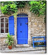 Blue In Provence France Acrylic Print