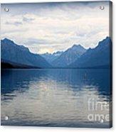 Blue Lake Mcdonald Acrylic Print