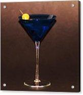 Blue Martini Acrylic Print