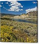 Blue Mesa Reservoir - V Acrylic Print