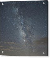 Blue Milky Way Acrylic Print