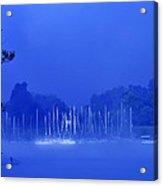 Blue Mondays Acrylic Print