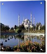Blue Mosque, Sultanahmet, Istanbul Acrylic Print