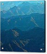 Blue Mountains Acrylic Print