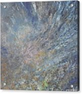 Blue Nebula #1 Acrylic Print