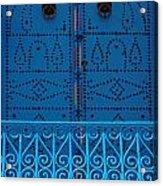Blue On Blue Acrylic Print