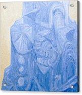 Blue Pagan Church Acrylic Print