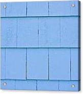 Blue Panels Acrylic Print