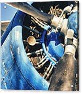 Blue Plane - Antonov 2 Acrylic Print