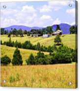 Blue Ridge Farm - 1 Acrylic Print