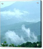 Blue Ridge Fog High Acrylic Print