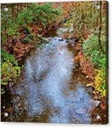 Blue Ridge Mountain Stream Too Acrylic Print