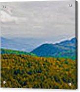 Blue Ridge Panorama Acrylic Print
