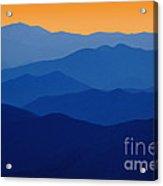 Blue Ridges - D005415 Acrylic Print
