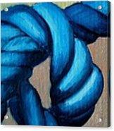 Blue Rope 2 Acrylic Print