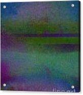 Blue Scape II Acrylic Print