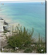 Blue Sea From Seven Sisters Acrylic Print