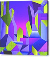 Blue Shift Acrylic Print