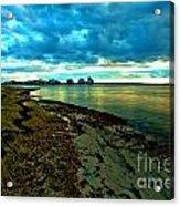 Blue Shores Acrylic Print
