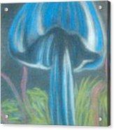 Blue Shroom Acrylic Print