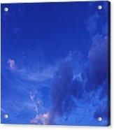Blue Sky Always Acrylic Print
