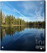 Blue Sky Art Acrylic Print