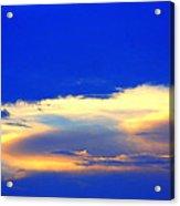 Blue Skys Acrylic Print by Bret Worrell