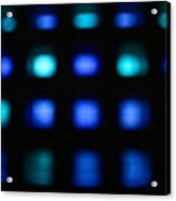 Blue Squares Acrylic Print
