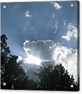 Blue Summer Skys Acrylic Print