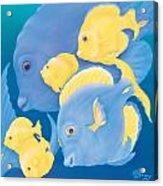 Blue Tango Acrylic Print