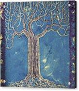 Blue Tree Acrylic Print