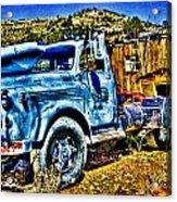 Blue Truck Acrylic Print